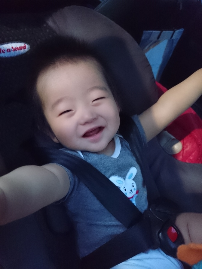 Xuheng, you are a year old today!